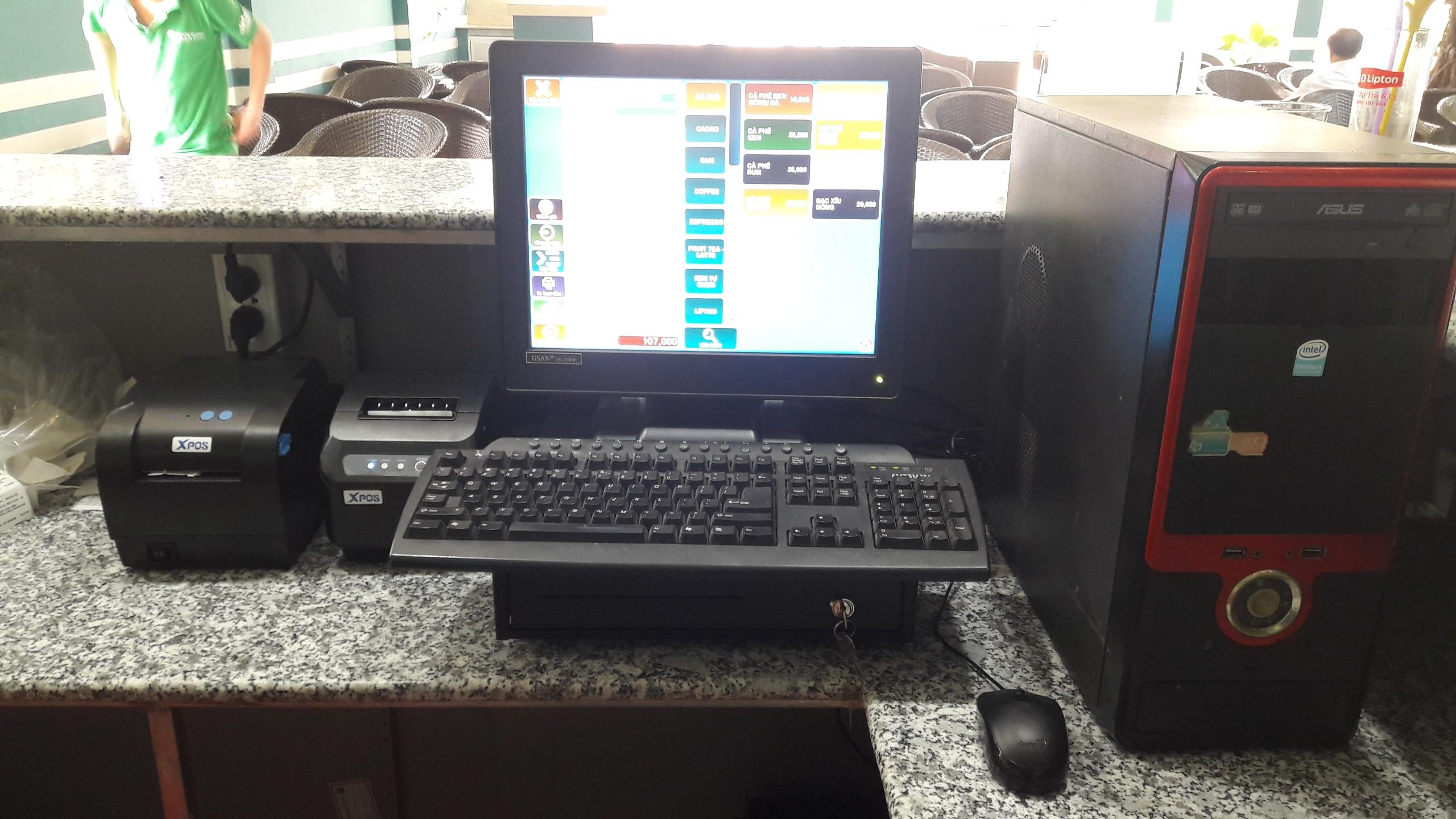 máy tính tiền quán trà sữa giá rẻ tại tphcm bình dương