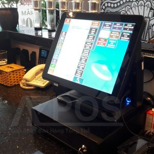 máy tính tiền quán cafe tại pleiku