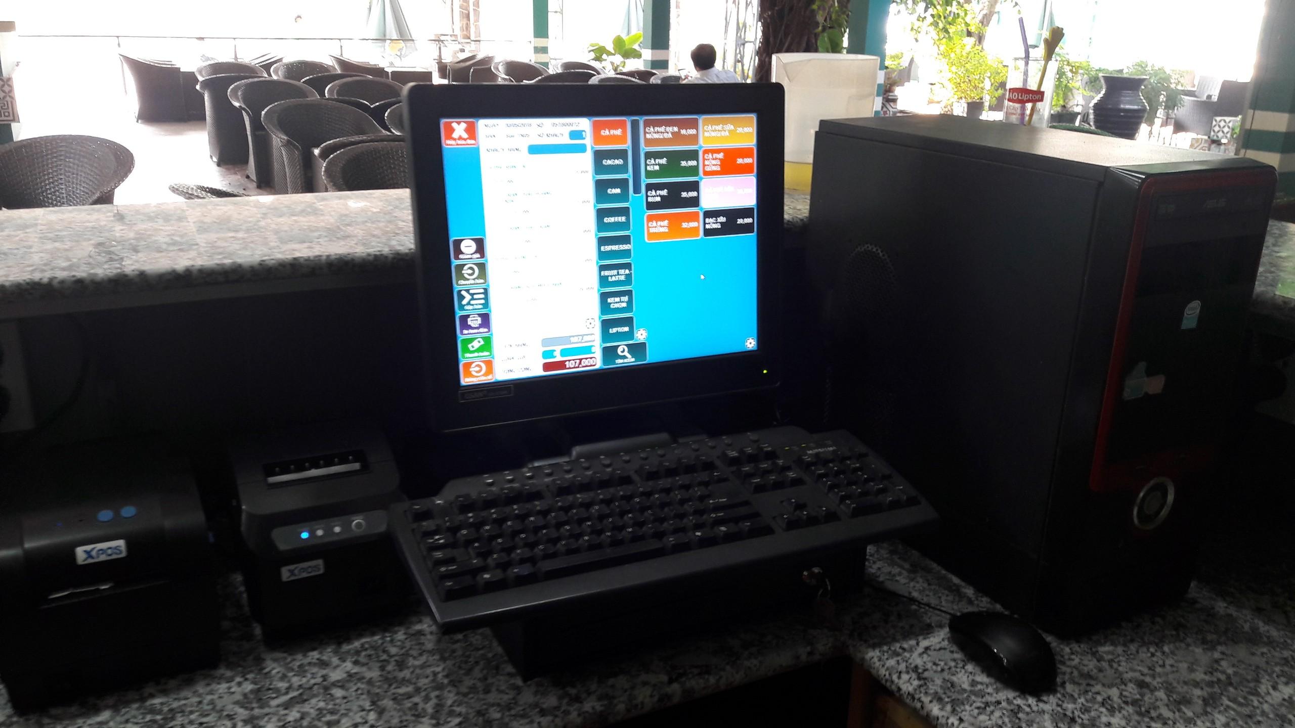 máy tính tiền quán cafe tại đồng nai