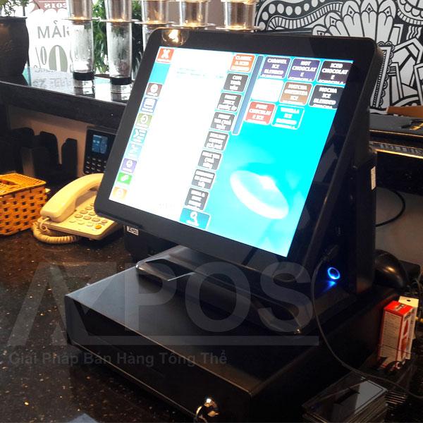 máy tính tiền cảm ứng quán ăn
