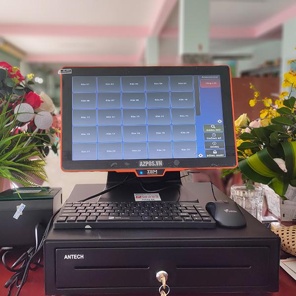 Máy tính tiền cảm ứng quán cafe