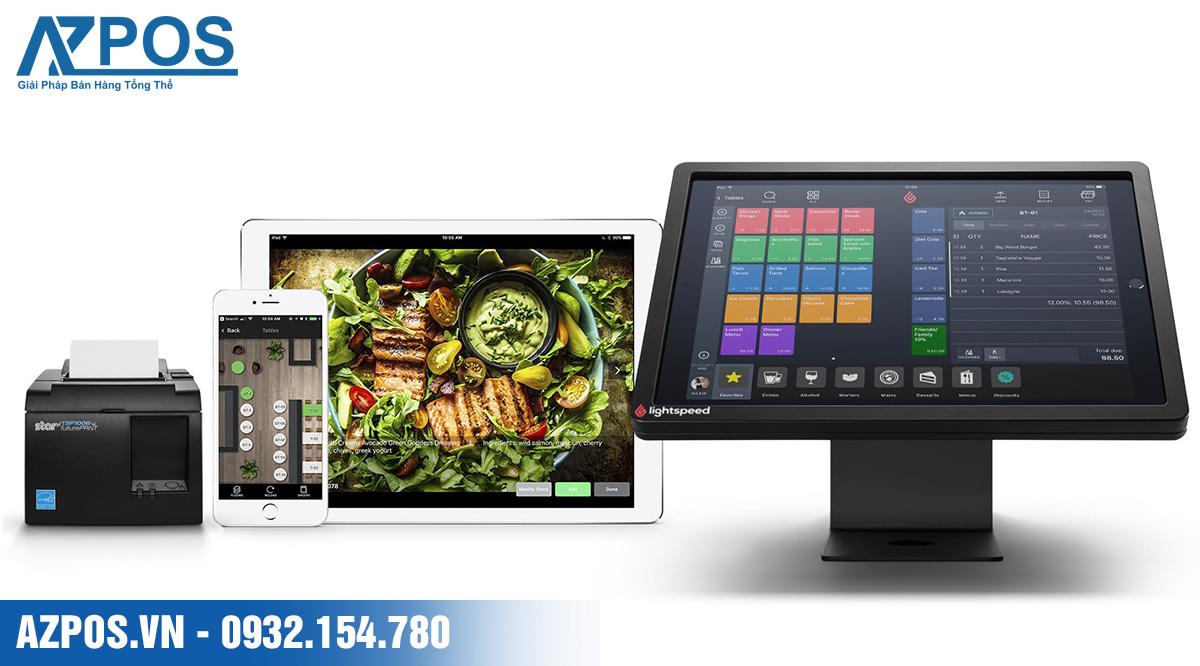 máy tính tiền cửa hàng thực phẩm