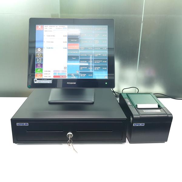 máy tính tiền posbank nhà hàng quán ăn
