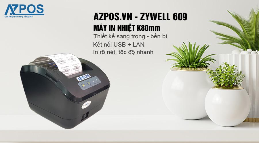 máy in zywell 609